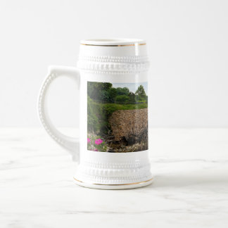 The beautiful coast of Newport Rhode Island Beer Stein