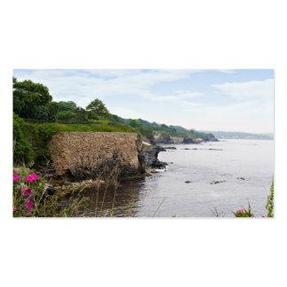 The beautiful coast of Newport Rhode Island Business Card
