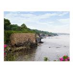 The beautiful coast of Newport Rhode Island Postcard