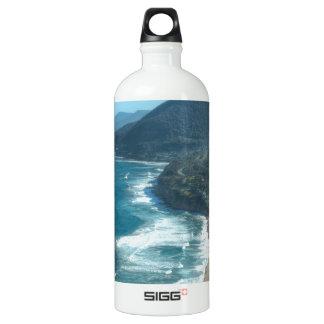 The beautiful coastline of Queensland, Australia Water Bottle
