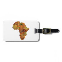 THE BEAUTIFUL CONTINENT BAG TAG