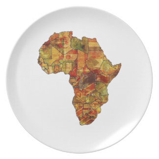 THE BEAUTIFUL CONTINENT PLATES