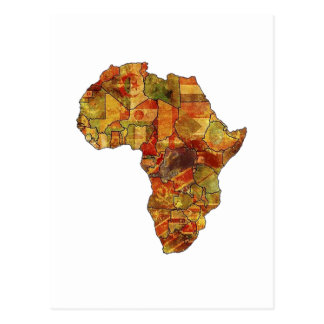 THE BEAUTIFUL CONTINENT POSTCARD