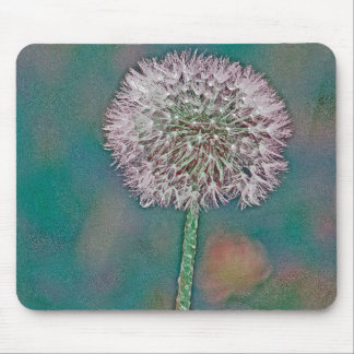 The Beautiful Dandelion Mouse Pad
