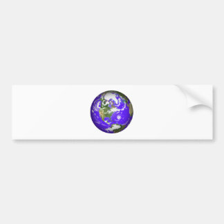 The Beautiful Earth Bumper Sticker