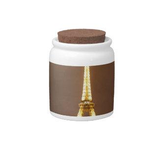 The Beautiful Eiffel Tower Candy Dish