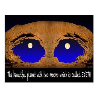 The Beautiful Eyeth -2 Postcard