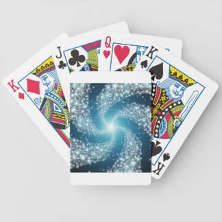 The Beautiful Galaxy Bicycle Playing Cards