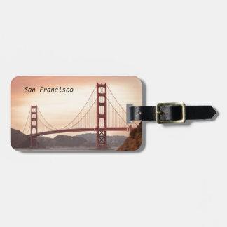 The beautiful Golden Gate Bridge in San Francisco Bag Tag