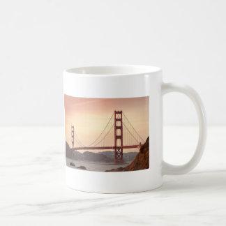 The beautiful Golden Gate Bridge in San Francisco Coffee Mug