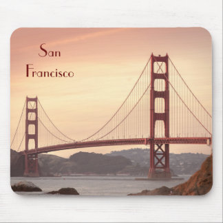 The beautiful Golden Gate Bridge in San Francisco Mouse Pad