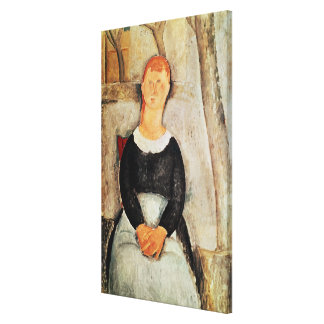 The Beautiful Grocer Canvas Print