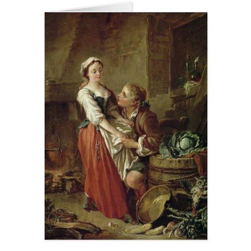 The Beautiful Kitchen Maid Card