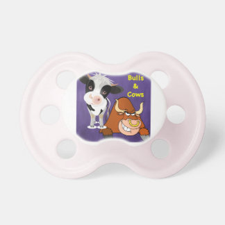 The beautiful one and the beast Cowstyle Pacifier