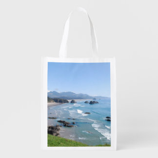 The Beautiful Oregon Coast from Ecola Park Grocery Bag