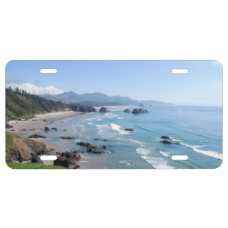 The Beautiful Oregon Coast from Ecola Park License Plate