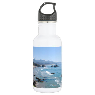 The Beautiful Oregon Coast from Ecola Park Stainless Steel Water Bottle