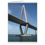 The Beautiful  Ravenel Bridge Greeting Card
