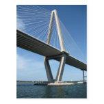 The Beautiful  Ravenel Bridge Postcard