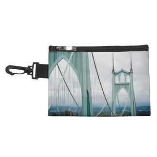 The beautiful St. John's Bridge Accessory Bag