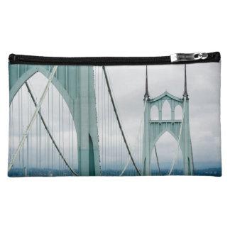 The beautiful St. John's Bridge Cosmetic Bag