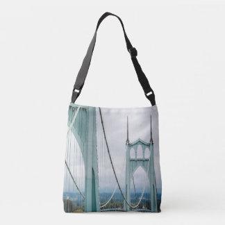 The beautiful St. John's Bridge Crossbody Bag
