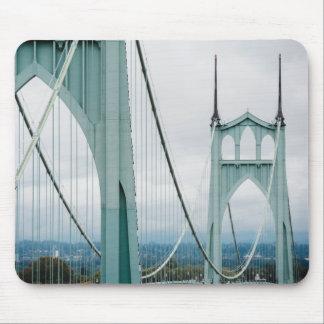 The beautiful St. John's Bridge Mouse Pad