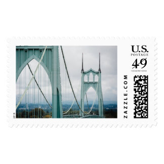 The beautiful St. John's Bridge Postage