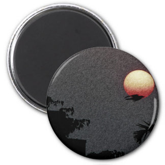 The Beautiful Sunset ! Refrigerator Magnets