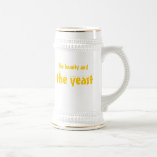 The beauty and the yeast! beer stein