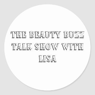 The Beauty Buzz Talk Show Sticker - No Logo
