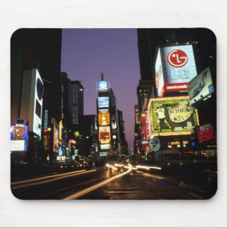 The beauty color and energy of famous Times Mouse Pad