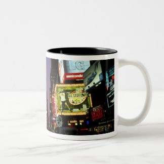 The beauty color and energy of famous Times Two-Tone Coffee Mug