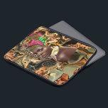 """The Beauty Of An African Jungle Flower Laptop Sleeve<br><div class=""""desc"""">Pop Art: The Beauty Of An African Jungle Flower</div>"""