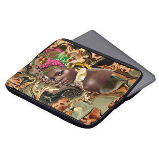 The Beauty Of An African Jungle Flower Laptop Sleeves