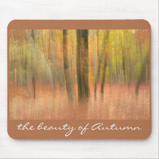 the beauty of Autumn Mouse Pad