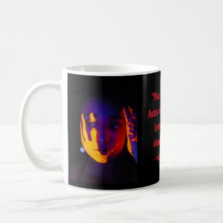 The Beauty of Darkness coffee cup