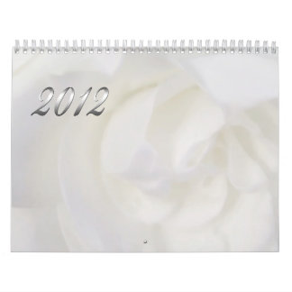 The Beauty of Flowers Calendars