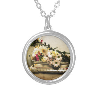 The Beauty of Flowers Silver Plated Necklace