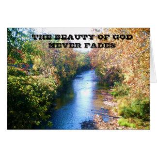 THE BEAUTY OF GODS LOVE CARD