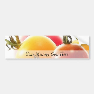 The Beauty Of Heirloom Tomatoes Car Bumper Sticker