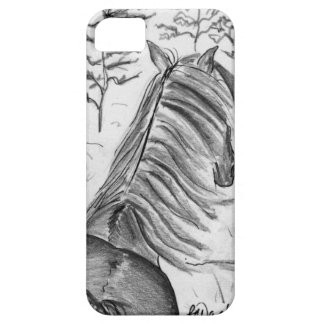 The Beauty of Horses No.1 iPhone SE/5/5s Case