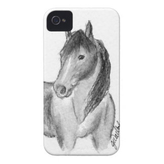 The Beauty of Horses No.3 iPhone 4 Case