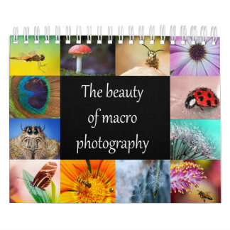 The beauty of macro photography calendar