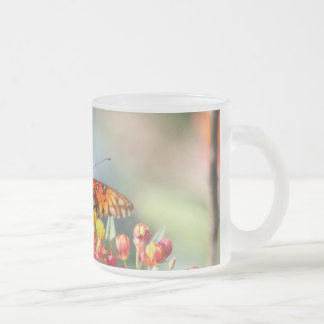 The Beauty of Nature Frosted Glass Coffee Mug