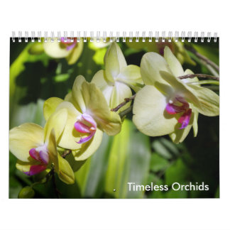 The Beauty of Orchids Calendar