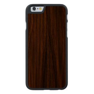 The Beauty Of Real Wood iPhone 6 Bumper Case Carved® Walnut iPhone 6 Slim Case