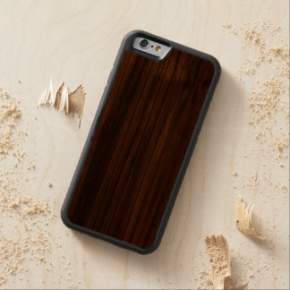 The Beauty Of Real Wood iPhone 6 Bumper Case Carved® Walnut iPhone 6 Bumper Case