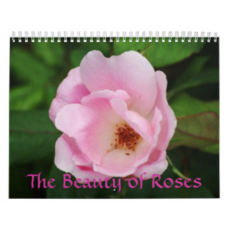 The Beauty of Roses Calendar