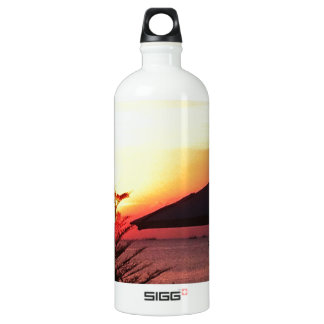 The Beauty of the Sunset View Aluminum Water Bottle